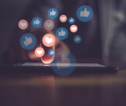 la viralité des réseaux sociaux